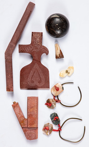 Five Native American Indian items