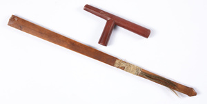 Sioux Indian catlinite smoking pipe