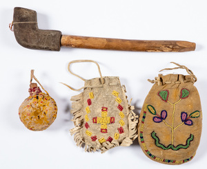 Four Native American Indian items