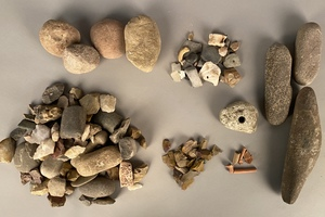 Group of Native American Indian stones