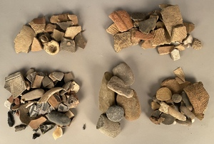 Native American Indian pottery shards