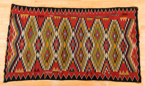 Germantown Navajo Indian textile, 91