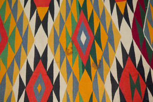 Germantown Navajo Indian textile, 91