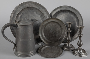 Pewter tablewares