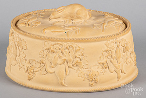 Wedgwood caneware game pie dish