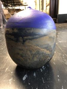 Toshiko Takaezu studio ceramic vase