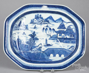 Chinese export porcelain Canton platter
