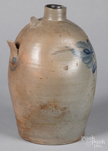 Northumberland County stoneware jug