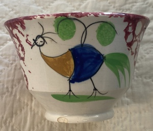 Spatter cups and saucers
