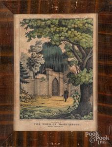 Five color lithographs