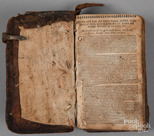 1674 leather bound Bible