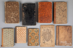Group of German religious texts