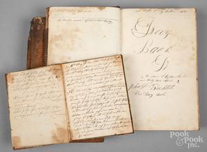 Four Berks County day books of John Bechtel