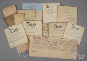 Eleven Pennsylvania indentures