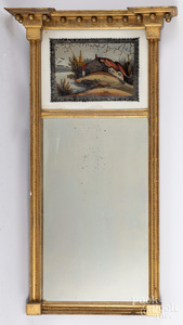 Federal giltwood mirror, early 19th c.