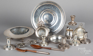 Group of sterling silver, etc.
