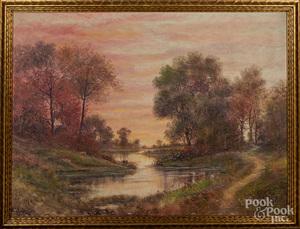 Raphael Senseman oil on canvas
