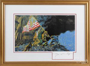 Jamie Wyeth signed print