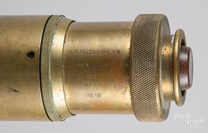 Brass G. S. telescope