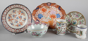 Chinese export famille rose porcelain