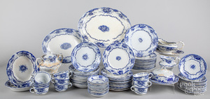 English Celtic pattern porcelain dinner service