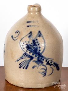 Two gallon stoneware jug