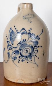 Three gallon stoneware jug