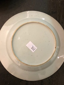 Six Chinese blue and white porcelain plates