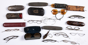 Collection of early spectacles