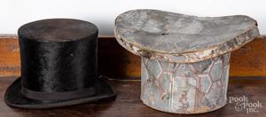 Wallpaper hatbox, top hat