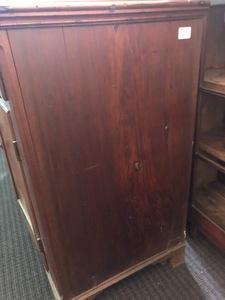 Pennsylvania walnut Dutch cupboard