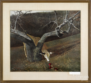 Andrew Wyeth collotype