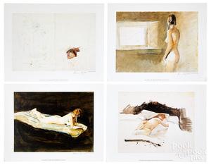 Andrew Wyeth six nude studies