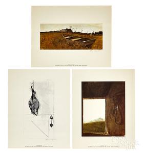 Andrew Wyeth The Four Seasons portfolio