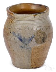 South Amboy, New Jersey stoneware crock