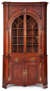 Pennsylvania two-part architectural cupboard