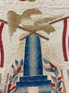 Baltimore youth album quilt, mid 19th c.