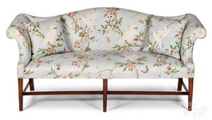 Late Chippendale mahogany sofa, ca. 1790
