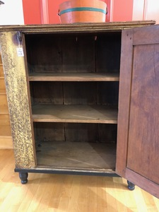 Pennsylvania painted jelly cupboard