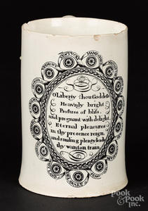 Liverpool Herculaneum mug, early 19th c.
