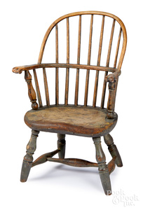 Pennsylvania sackback Windsor child's chair
