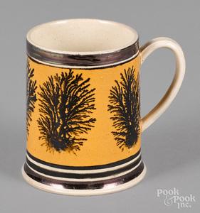 Mocha mug, 19th c.