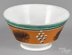 Mocha waste bowl, 19th c.