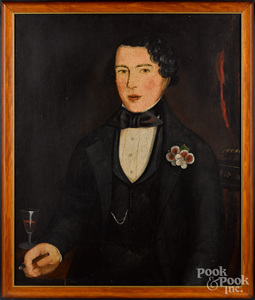 Attributed to Joseph Chase Rutherford, portrait