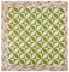 Rob Peter to Pay Paul quilt, mid 19th c.