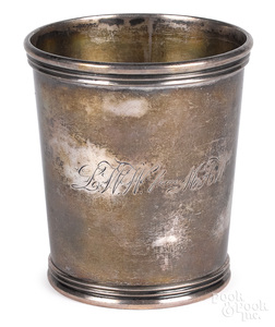 Booneville, Missouri coin silver julep cup