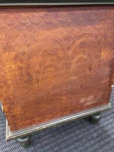 Ohio painted poplar blanket chest