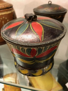 Collection of toleware, 19th c.