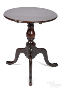 Miniature George II mahogany tea table