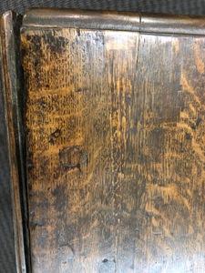 Diminutive George I oak gateleg table, ca. 1740